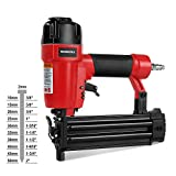 """WORKPRO 18-Gauge Pneumatic Brad Nailer, Compatible with 3/8"""" up to 2"""" Nails,..."""