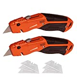 beyond by BLACK+DECKER Utility Knife, Retractable, Quick Change Blade, 2-Pack...