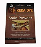 Black Dye - Keda Coal Black Powder Wood Dye 25 Grams Makes 1 Gallon Black Stain...