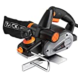 Planer, TACKLIFE Electric Hand Planer, 6-Amp 3-1/4-Inch, 16500RPM, with 5/64...