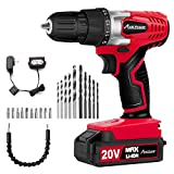 Avid Power 20V MAX Lithium Ion Cordless Drill, Power Drill Set with 3/8 inches...