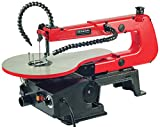 GENERAL INTERNATIONAL 16' Scroll Saw - Variable Speed Jigsaw with Flexible Shaft...