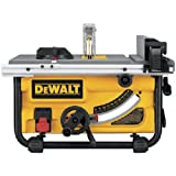 DEWALT DWE7480 10 in. Compact Job Site Table Saw with Site-Pro Modular Guarding...