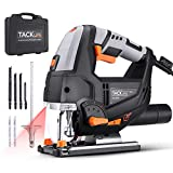 TACKLIFE Advanced 6.7 Amp 3000 SPM Jigsaw with Laser & LED, Variable Speed,...
