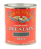 General Finishes Water Based Dye, 1 Pint, Blue