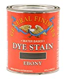 General Finishes Water Based Dye, 1 Pint, Ebony