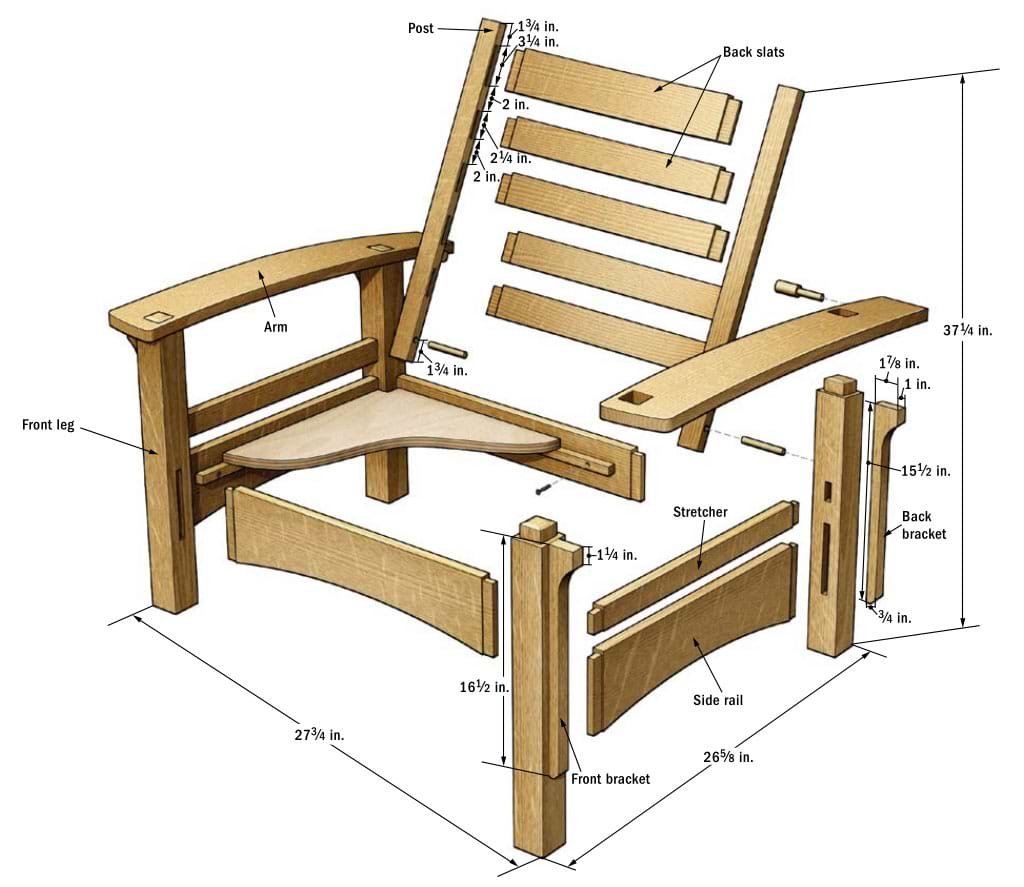 diy-wooden-armchair-plans